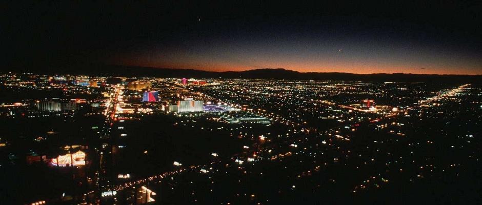 LV Strip by Night